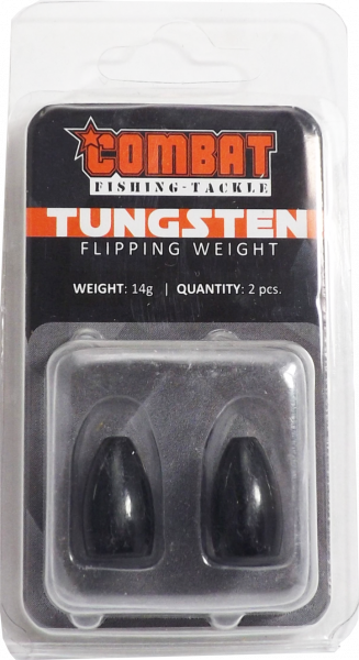 Tungsten Bullet Flipping Weight black
