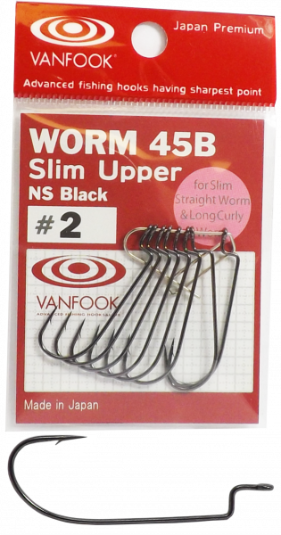 Vanfook Worm 45b slim upper NS Black
