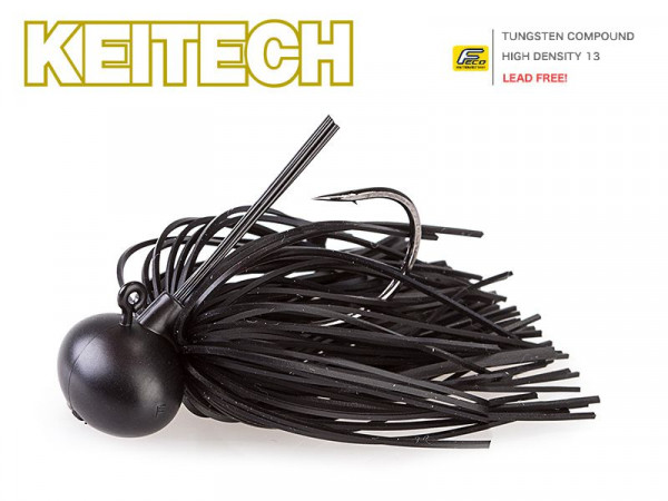 Keitech Rubber Jig Model II - Black