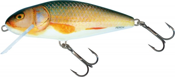 Salmo Perch Wobbler 8cm schwimmend