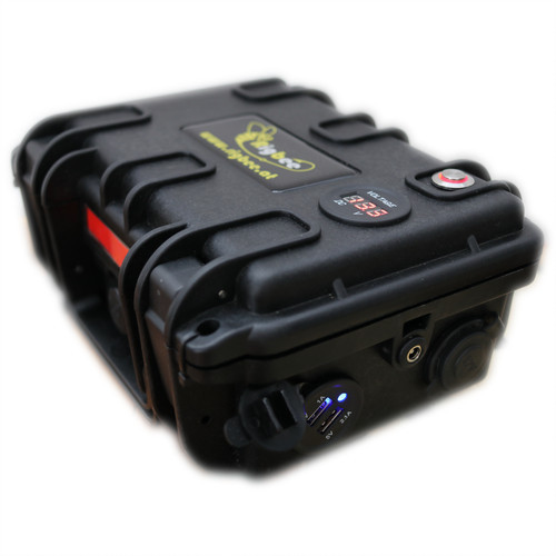 Rigbee Ladestation (Powerbank) mit LiFePo4 Akku 12V 17,5Ah