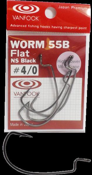 Vanfook Worm 55b Flat NS Black